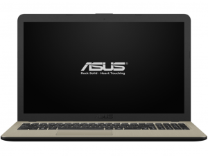 Asus VivoBook X540MA-GQ155 15.6 HD, Intel® Dual Core™ N4000, 4GB, 500GB HDD, Intel® UHD Graphics 600, linux, csokoládé fekete notebook