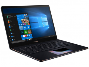 Asus ZenBook Pro UX580GE-E2056T 15.6 UHD Touch, Intel® Core™ i9-8950HK, 16GB, 512GB SSD, NVIDIA GeForce GTX 1050Ti - 4GB, Win10, sötétkék notebook