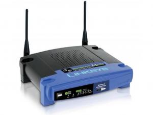 Linksys WRT54GL Vezeték nélküli 54Mbps Router