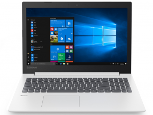 Lenovo Ideapad 330-15IGM 81D100KMHV 15.6 HD, Intel® Dual Core™ N4000, 4GB, 1TB HDD, Win10, fehér notebook
