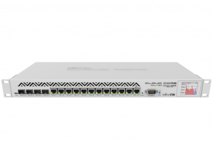 MikroTik CCR1036-12G-4S 12port GigabitEthernet 4xSFP - 36 magos CPU 16GB RAM - Cloud Core™ Router