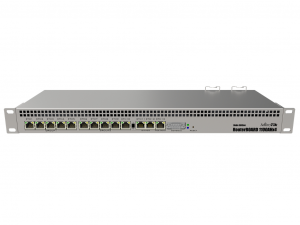 MikroTik RB1100AHx4 Dude edition L6 1GB 13x Gigabit Ethernet vezetékes Router
