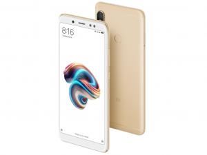 Xiaomi Redmi Note 5 64GB 4GB DualSim Arany Okostelefon