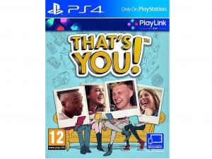 Sony Thats You! PS4 játékprogram