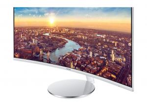 Samsung C34J791- 34 Col - 3440 x 1440 felbontás -VA LED monitor