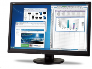 NEC Display AccuSync AS242W - 21.5 col - Full HD monitor