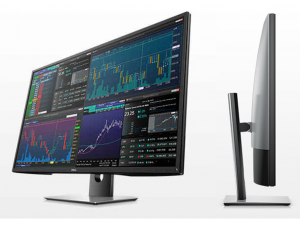 Dell P4317Q - 42.5 Col - UltraHD monitor - fekete