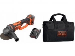 Black & Decker BCG720M1-QW 18V Sarokcsiszoló tároló táskában