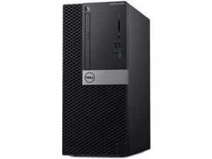 DELL Optiplex 5060 MT - Intel® Core™ i5 Processzor 8500 Hexa-Core, Intel® UHD Graphics 630, 2x4GB DDR4, 1TB 7.2k rpm HDD, Windows 10 Pro 64-bit , DVD+/-RW, USB Optikai egér, USB billentyűzet