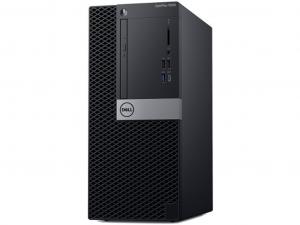 DELL Optiplex 5060 MT - Intel® Core™ i5 Processzor 8500 Hexa-Core, Intel® UHD Graphics 630, 2x4GB DDR4, 256GB SSD, Linux, DVD+/-RW, USB Optikai egér, USB billentyűzet