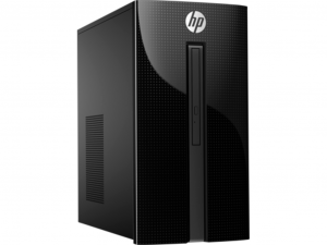 HP PC 460-P202NN - Intel® Core™ i7 Processzor-7700T Quad-Core, 8GB DDR4, 1TB HDD, NVIDIA GTX 1050 2GB GDDR5, USB Egér, Billentyűzet, DOS, Fekete, 3 ÉV