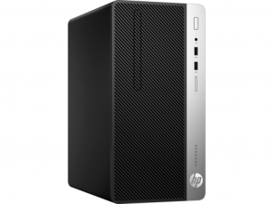 HP Prodesk 400 (MT) G4 - Intel® Core™ i3 Processzor-7100 - 8GB DDR4 - 256GB SSD - Intel® HD Graphics 630 - FreeDOS