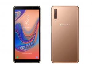 Samsung Galaxy A7 (2018) A750F 64GB 4GB DualSim Arany Okostelefon