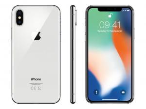 Apple iPhone X 256GB 3GB Ezüst Okostelefon