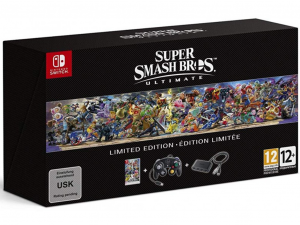 Nintendo Super Smash Bros Ultimate Switch Limited Edition