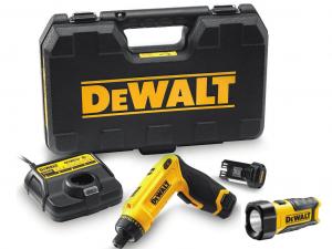 DeWALT DCF680G2F-QW Mozgás aktivált csavarozó kofferben + LED láma