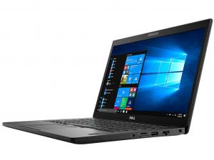 Dell Latitude 7490 14 FHD, Intel® Core™ i7 Processzor-8650U, 16GB, 512GB SSD, Win10P, fekete notebook