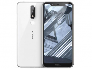 Nokia 5.1 Plus Dual Sim 32GB Fehér okostelefon