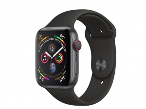 Apple Watch Series 4 GPS +Cellulare 40mm Space Grey Aluminium Case with Black Sport Band