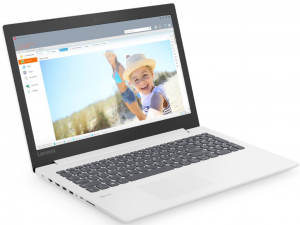 Lenovo Ideapad 330-15IKB 81DC00KRHV 15.6 HD, Intel® Core™ i3 Processzor-6006U, 4GB, 500GB HDD, Dos, fehér notebook