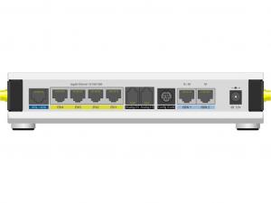 Lancom 1793VA-4G 1 SIM ADSL2+, VDSL2, Ethernet, Modem/vezeték nélküli Router - 4G - , LTE 2100 1900,1800, 800, 2600, 900, 700, 2300, 2500, WCDMA 2100, 1900, ... - LTE, HSPA, UMTS(2 x External) - 300 Mbit/s