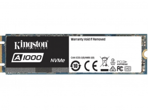 Kingston 480GB M.2 NVMe A1000M8/480G SSD meghajtó