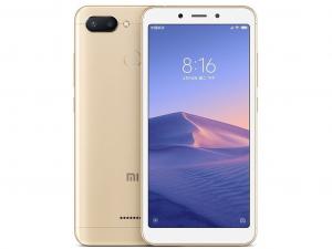 Xiaomi Redmi 6 3GB 64GB DualSim Arany Okostelefon
