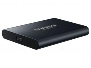 Samsung T5 külső SSD - 2 TB, USB 3.1, fekete