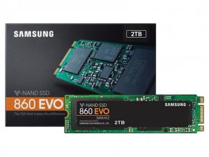 Samsung EVO 860 - 2 TB M.2 SATA SSD
