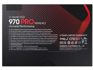 Samsung 970 Pro - 512GB M.2 NVMe SSD