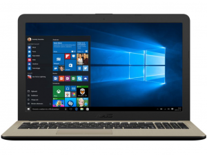 Asus VivoBook X540UB-DM505T 15.6 FHD, Intel® Core™ i5 Processzor-8250U, 4GB, 1TB HDD, NVIDIA GeForce MX110 - 2GB, Win10, csokoládé fekete notebook