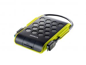 ADATA AHD720 - ütés-és vízálló zöld külső winchester - 2TB, USB 3.1