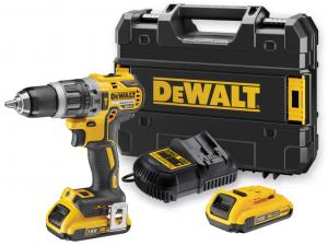 DeWALT DCD796D2-QW 18V-os XR Li-Ion kefe nélküli kompakt ütvefúró-csavarozó