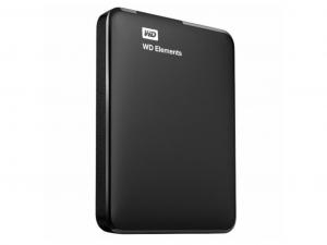 Western Digital Elements Portable WDBU6Y0020BBK külső merevlemez- 2,5 Col, 2TB, USB3.0, fekete