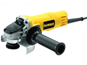 DeWALT DWE4057-QS 800W 125mm Sarokcsiszoló áramkiamaradás kapcsolóval