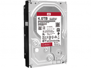 Western Digital Red Pro - 4TB SATA III NAS HDD