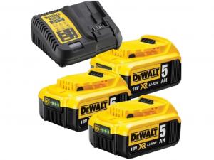 DeWALT DCB115P3-QW 18V XR 5.0Ah Akku pakk