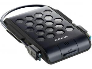 ADATA AHD720 2,5 1TB USB3.1 ütés-és vízálló fekete külső winchester