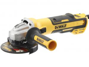 DeWALT DWE4357-QS 125 mm-es kefe-nélküli sarokcsiszoló