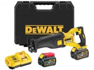 DeWALT DCS388T2-QW 54V XR Flexvolt kardfűrész 2 akkuval kofferben