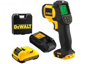 DeWALT DCT414D1-QW 10.8V-os XR Li-Ion infra hőmérő kofferben