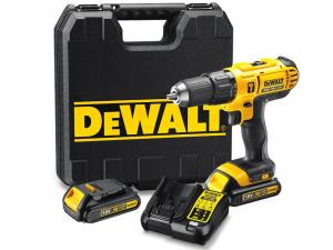 DeWALT DCD776C2-QW 18V XR Li-Ion kompakt ütvefúró-csavarozó kofferben