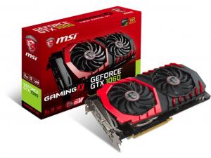 MSI GeForce GTX 1060 GAMING X 3G videokártya - 3GB GDDR5