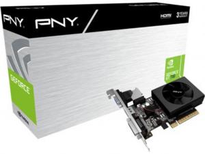 PNY GeForce GT 730 2 GB DDR3 alacsony profilú videokártya (HTPC hez)