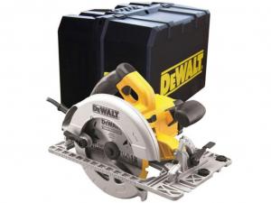 DeWALT DWE576K-QS 61 mm-es vágásmélységű nagy pontosságú körfűrész koffer