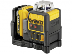 DeWALT DCE0811D1R-QW 10,8V 720 Piros lézer kofferben