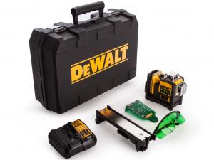 DeWALT DCE089D1G-QW 10.8V zöld vonallézer tárolóban