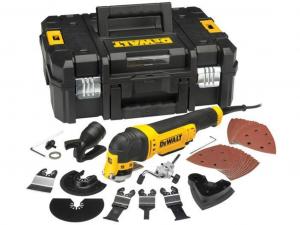DeWALT DWE315KT-QS Vezetékes Multi-Tool kofferben
