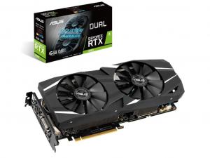 ASUS GeForce RTX 2060 DUAL OC 6GB GDDR6 videokártya