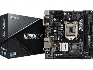 ASRock H310CM-DVS alaplap - s1151, Intel® H310, mATX